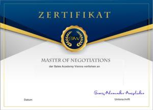 SAV Zertifikat M.N.